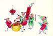 童心童戏0049,童心童戏,中国国画,