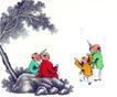 童心童戏0057,童心童戏,中国国画,