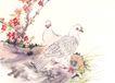 飞禽走兽0034,飞禽走兽,中国国画,植物 树木 飞鸟