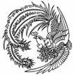 凤纹0980,凤纹,中国民间艺术,