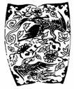 凤纹0986,凤纹,中国民间艺术,