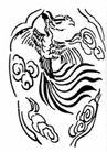 凤纹1014,凤纹,中国民间艺术,