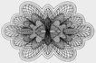 古代图案花纹0088,古代图案花纹,中国民间艺术,花朵 形象 图案