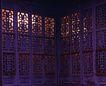 古代建筑0053,古代建筑,中国民间艺术,古代建筑 雕花窗格 透光