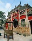 古代建筑0072,古代建筑,中国民间艺术,牌门 石制 香阁