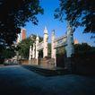 古代建筑0095,古代建筑,中国民间艺术,牌楼 地砖 纪念馆