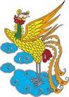 吉祥动物0051,吉祥动物,中国民间艺术,民间艺术 动物图片 凤凰