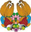 吉祥动物0063,吉祥动物,中国民间艺术,