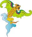 吉祥动物0081,吉祥动物,中国民间艺术,图形 形象 动物