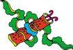 吉祥动物0096,吉祥动物,中国民间艺术,民间 艺术 图画