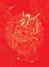 003,吉祥生肖,中国民间艺术,天官 赐福 官帽 天庭 福祉