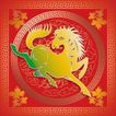 013,吉祥生肖,中国民间艺术,马 奔跑 姿势