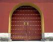 天坛0024,天坛,中国民间艺术,红墙 大门 宫门