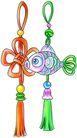 恭贺节庆0078,恭贺节庆,中国民间艺术,吊坠 编织 小鱼结