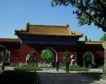 故宫0038,故宫,中国民间艺术,拱门 走道 晴天
