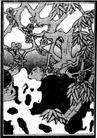 植物图案花纹0390,植物图案花纹,中国民间艺术,