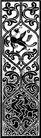 植物图案花纹0391,植物图案花纹,中国民间艺术,