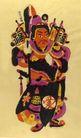 民间艺术0012,民间艺术,中国民间艺术,福星 驾到 插旗