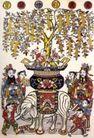 民间艺术0014,民间艺术,中国民间艺术,摇钱树 大象 背负