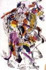 民间艺术0015,民间艺术,中国民间艺术,长寿 老神 秃顶