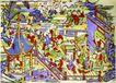民间艺术0024,民间艺术,中国民间艺术,天兵 天将 神仙