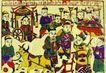 民间艺术0025,民间艺术,中国民间艺术,菩萨 供奉 过年