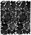 现代图案花纹0618,现代图案花纹,中国民间艺术,