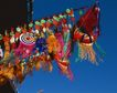 缤纷圣诞0002,缤纷圣诞,中国民间艺术,竹杆 挑挂 展示