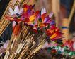 缤纷圣诞0006,缤纷圣诞,中国民间艺术,花枝 人造 纸制
