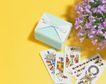 缤纷圣诞0009,缤纷圣诞,中国民间艺术,紫藤花 图形 纸片