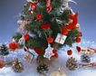 缤纷圣诞0012,缤纷圣诞,中国民间艺术,圣诞树 挂满 礼物