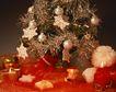 缤纷圣诞0013,缤纷圣诞,中国民间艺术,闪亮 蜡烛 金丝 珍珠 玩偶