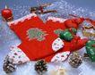 缤纷圣诞0014,缤纷圣诞,中国民间艺术,长筒袜 松果 烛光 塑料 装饰品