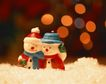 缤纷圣诞0026,缤纷圣诞,中国民间艺术,小矮人 圣诞老人 光点