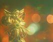 缤纷圣诞0033,缤纷圣诞,中国民间艺术,光影 铜像 雕像