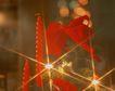 缤纷圣诞0035,缤纷圣诞,中国民间艺术,光线 闪光 红丝带