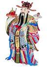 门神0014,门神,中国民间艺术,如意 天官 腰带