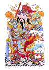 门神0015,门神,中国民间艺术,贴图 将领 门神