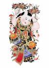 门神0023,门神,中国民间艺术,男孩 年画 春节