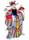 门神0025,门神,中国民间艺术,菩萨 神仙 玉如意