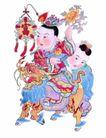 门神0029,门神,中国民间艺术,
