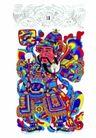 门神0033,门神,中国民间艺术,