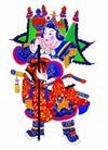 门神0036,门神,中国民间艺术,