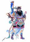 门神0042,门神,中国民间艺术,