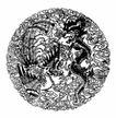 龙纹0445,龙纹,中国民间艺术,