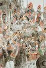 苗岭三月图,人物名画,中国现代名画,人物画