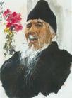 齐白石图,人物名画,中国现代名画,