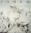 秋气嶙峋图,山水名画,中国现代名画,