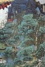 西山纪游图,山水名画,中国现代名画,