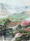 遵义图,山水名画,中国现代名画,